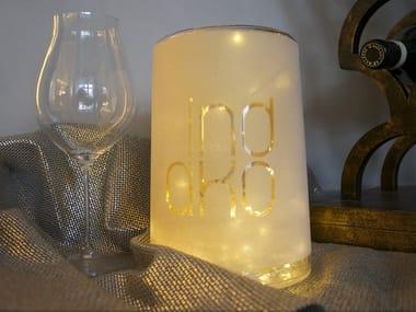 Plexiglass table lamp MILADY