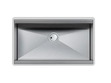 Single undermount stainless steel sink MILANELLO 750X374 S/TOP