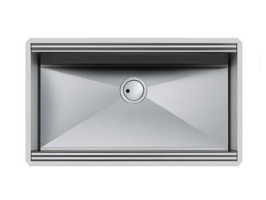 Single undermount stainless steel sink MILANO 790x400 S/TOP