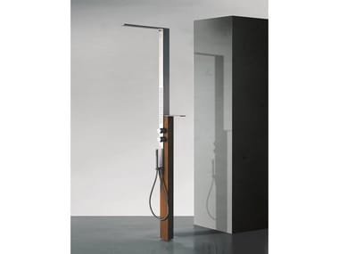 Stainless steel outdoor shower MILANOSLIM OUTDOOR