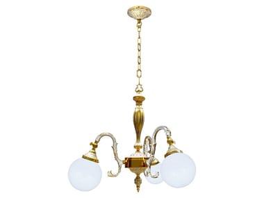 Brass pendant lamp MILAZZO II | Pendant lamp