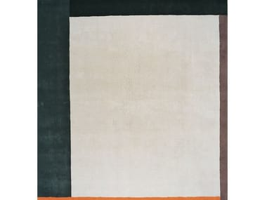 Square wool rug MILDRED
