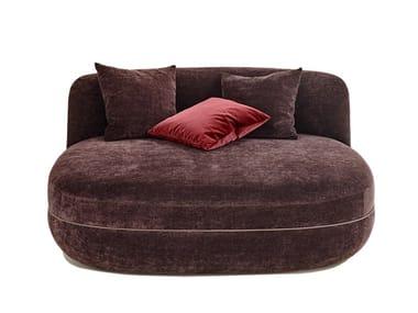 Pouf letto in tessuto MILES | Pouf letto