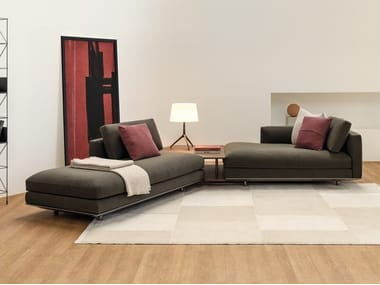 Sectional sofa with removable cover MILES | Sectional sofa