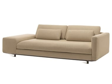 2 seater sofa with removable cover MILES | Sofa