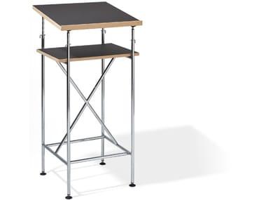 Height-adjustable rectangular writing desk MILLA | Office desk