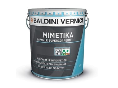 Pittura lavabile supercoprente MIMETIKA LAVABILE SUPERCOPRENTE