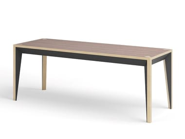 Lacquered engineered wood bench MIMI | Bench