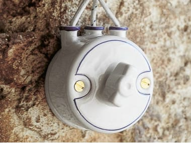 Ceramic electrical socket MIMOSA | Electrical socket