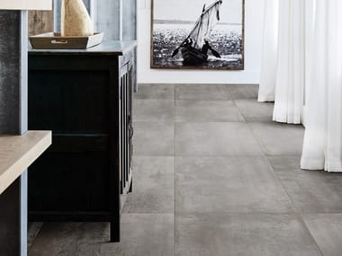 Porcelain stoneware wall/floor tiles with metal effect MINERAL
