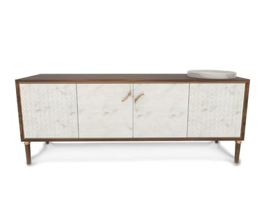 Sideboard with doors MINERVA | Sideboard