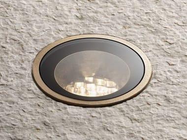 Spot de exterior embutido em aço e vidro para teto MINI DOT GLASS