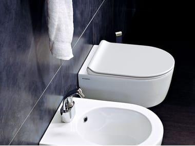 Wall-hung ceramic toilet MINI LINK GOCLEAN
