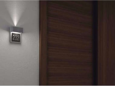 LED indirect light wall lamp with dimmer MINI SIGNAL