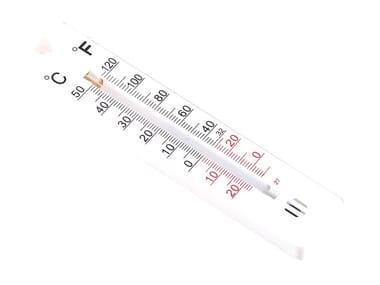 Mini termometro con lettura in gradi Celsius e Fahrenheit MINI TERMOMETRO DA PARETE