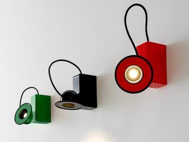 LED adjustable metal wall light MINIBOX | Wall light