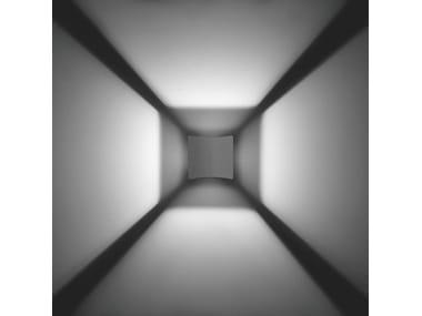 Applique per esterno a luce diretta e indiretta in alluminio pressofuso MINICLASS F.6997