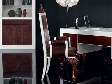 High-back chair with armrests MINIMAL BAROQUE   Chair with armrests