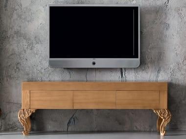Wooden TV cabinet MINIMAL BAROQUE   TV cabinet