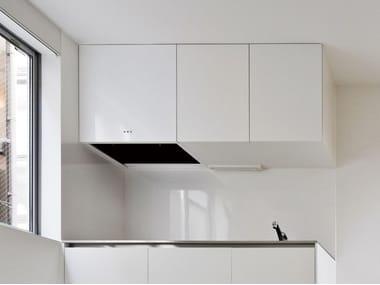 Wall-mounted steel cooker hood MINIMAL