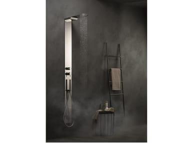 Colonna doccia termostatica con deviatore con doccetta COLONNE DOCCIA | Colonna doccia termostatica