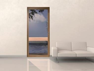 Aluminium and wood patio door MINIMAL WOOD | Patio door