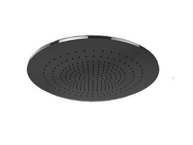 Ceiling mounted round waterfall shower MINIMALI | Ceiling mounted overhead shower