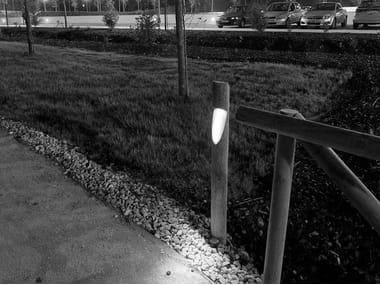 LED wooden bollard light MINIPOST LEDEX