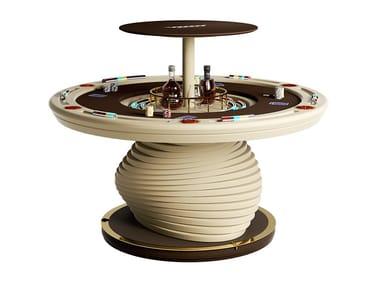Round poker table MIRABILIA