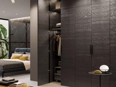 Flush-fitting wooden cabinet door for wardrobes MIRIA SMOOTH | Cabinet door