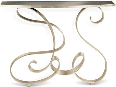 Iron console table MIRO' ART