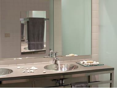 Mirrored wall-mounted infrared radiator MIROIR