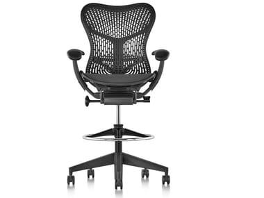 Ergonomic Triflex polymer office stool MIRRA 2 | Office stool