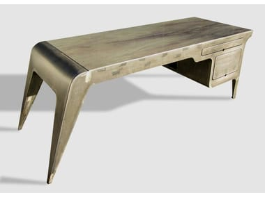 Metal writing desk with drawers MISS MOLLY