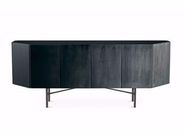 Wooden sideboard with doors MISTY VENICE | Sideboard