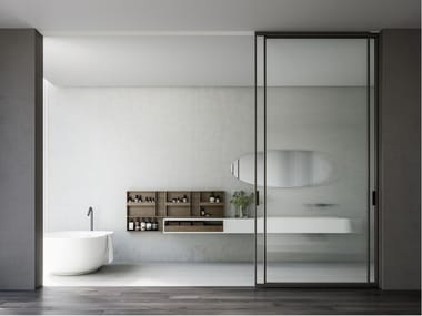 Glass sliding door MITICA | Sliding door
