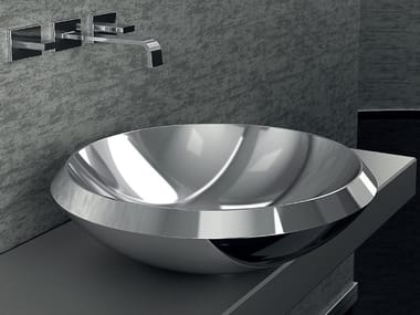Countertop stainless steel washbasin MITO