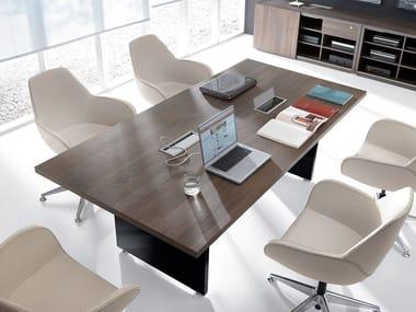 Tavolo da riunione rettangolare MITO | Tavolo da riunione