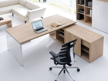 Height-adjustable office desk MITO UP&DOWN | Height-adjustable office desk
