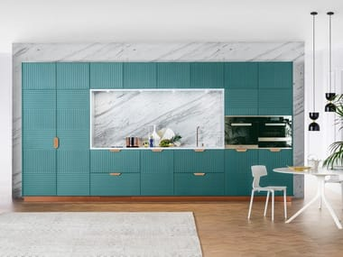 Lacquered linear kitchen MIUCCIA | Linear kitchen