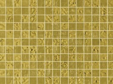 Glass mosaic MIX YELLOW GOLD