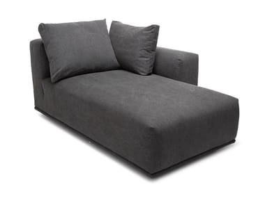 Gepolsterte Dormeuse aus Stoff MADONNA - RIGHT & LEFT CHAISE LOUNGE
