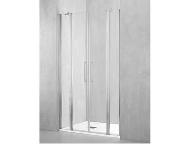 Box doccia a nicchia con porta pivotante MO-PSA2