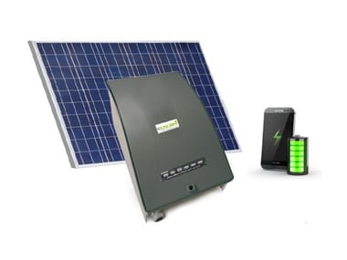 Solar powered phone recharge kit MOBILE CHARGING BOX