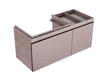 Mobile in abbinamento lavabo MOBILE SOTTOLAVABO CITTERIO DUE 75 DX ROVERE