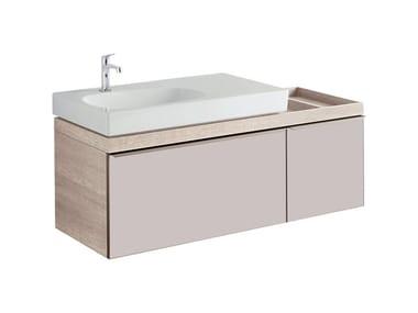 Mobile in abbinamento lavabo MOBILE SOTTOLAVABO CITTERIO DUE 90 DX ROVERE