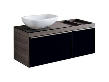 Mobile in abbinamento lavabo MOBILE LAVABO CITTERIO DUE FUMÉ DX