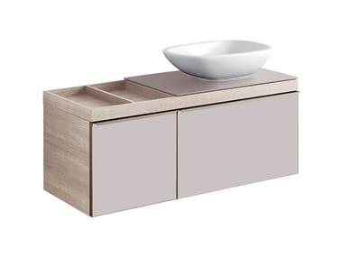 Mobile in abbinamento lavabo MOBILE LAVABO CITTERIO DUE SABBIA SX