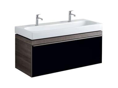 Mobile in abbinamento lavabo MOBILE SOTTOLAVABO CITTERIO UNO 120 FUMÉ
