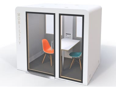 Acoustic & connected office pod accessible to a wheelchair MOBILITY PROCYON